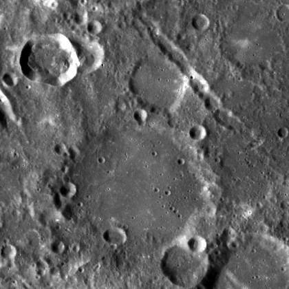 Popov (crater)