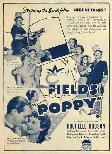 Poppy (1936 film) Poppy WC Fields 1936 Vintage Movie Ad Vintage Movie Ads