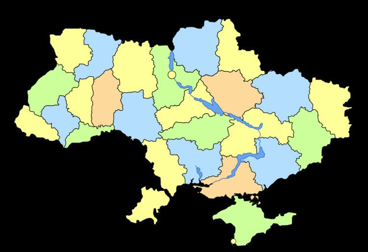 Populated places in Ukraine