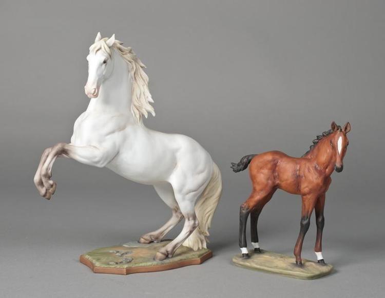 Porcelain Horse 2 Kaiser Porcelain Horse Figurines
