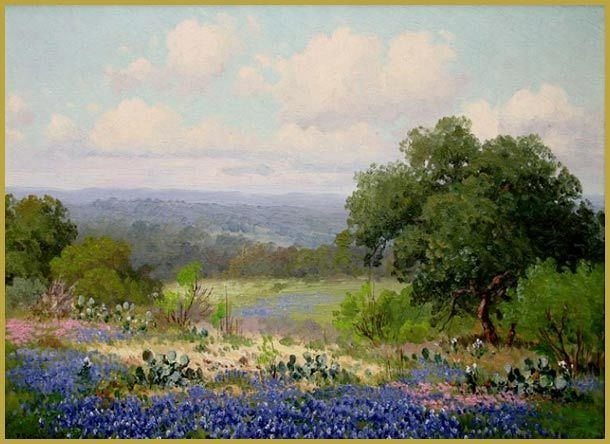 Porfirio Salinas Porfirio Salinas The San Antonio Wildflower Painter