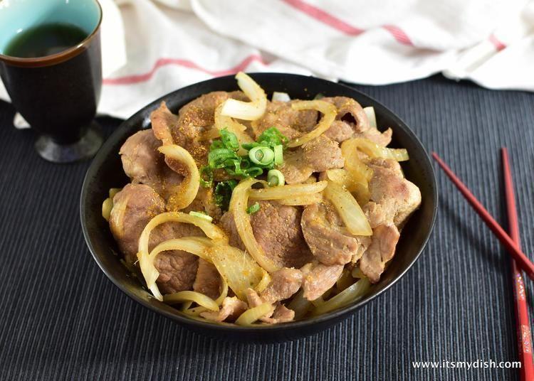 Pork shogayaki Ginger Pork Pork Shogayaki It39s My Dish