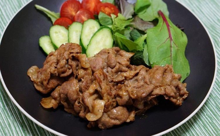 Pork shogayaki Pork Shogayaki Japanese Recipes Oishi Washoku Recipes