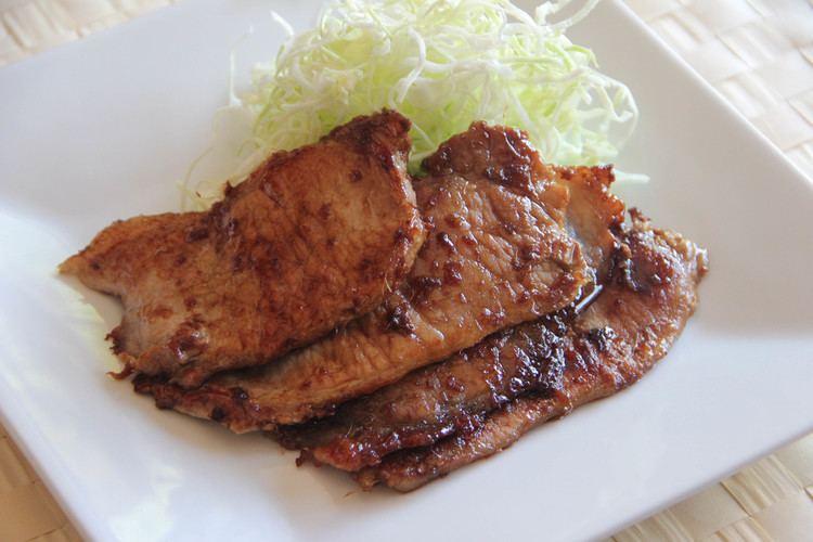 Pork shogayaki Pork Shogayaki Recipe Japanese Cooking 101