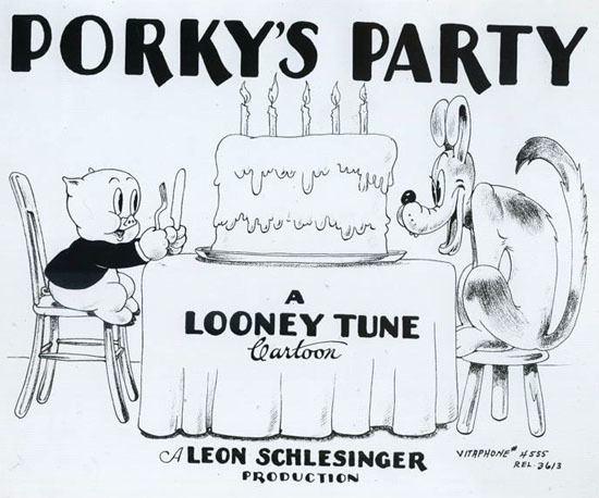 Porky's Party cartoonresearchcomwpcontentuploads201503por
