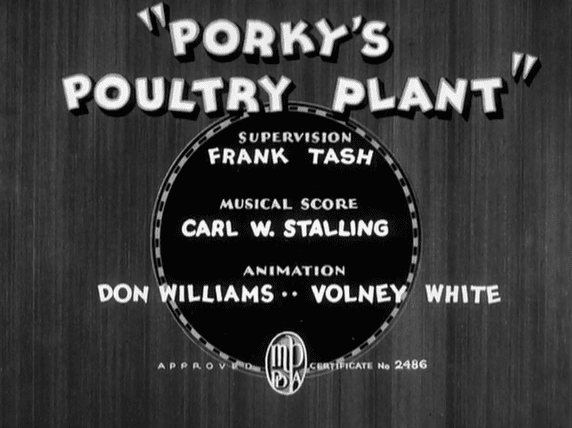Porky's Poultry Plant Likely Looney Mostly Merrie 141 Porkys Poultry Plant 1936