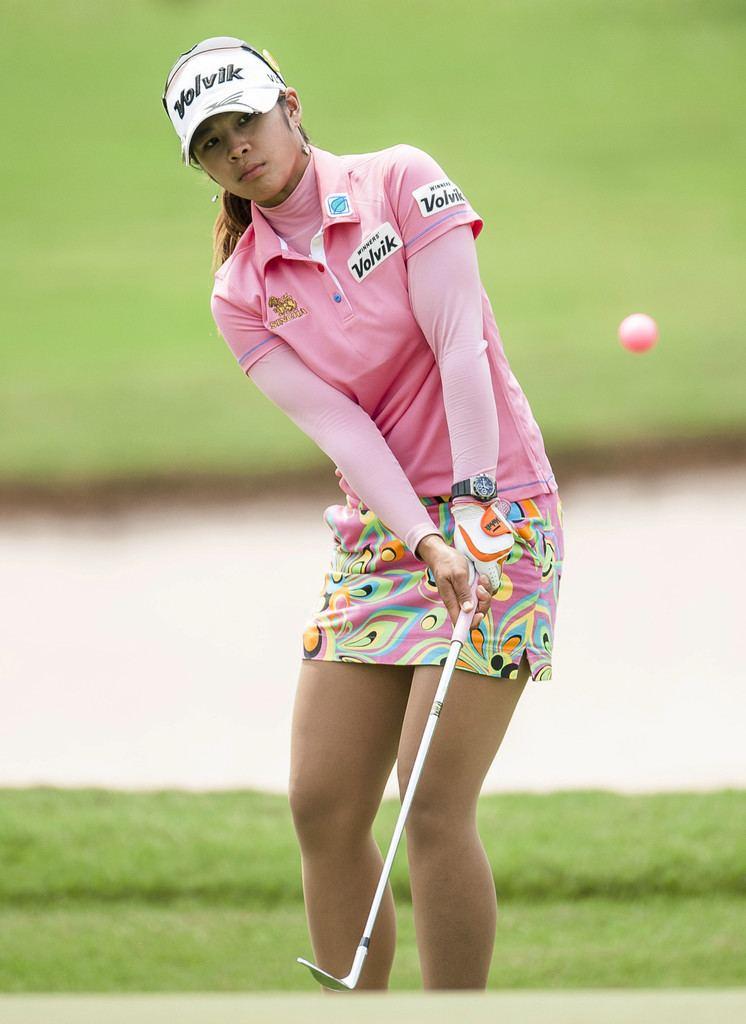 Pornanong Phatlum Fairways and Forehands 2013 Top 30 WTA and LPGA Year In