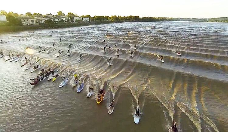 Pororoca This Month39s Amazonian Tidal Bore is Going to be a BIG One The Inertia