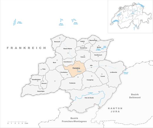 Porrentruy in the past, History of Porrentruy