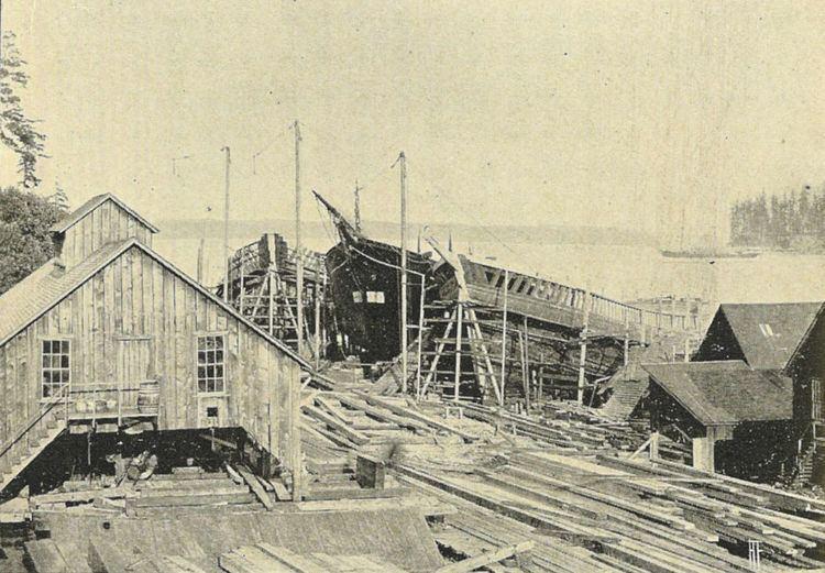 Port Blakely, Bainbridge Island, Washington