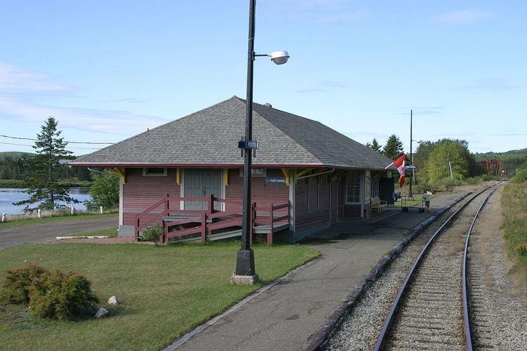 Port-Daniel railway station