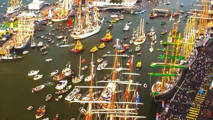Port of Amsterdam Port of Amsterdam Timelapse SAIL 2015 Drone Addicts YouTube
