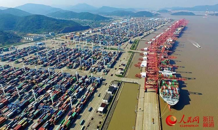 Port of Ningbo-Zhoushan Ningbo Zhoushan Port becomes first port with annual cargo exceeding