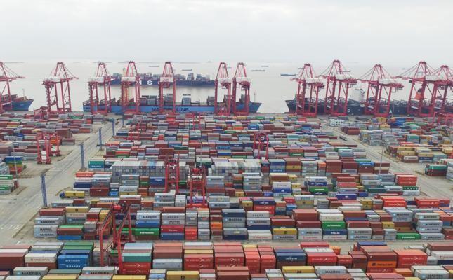 Port of Ningbo-Zhoushan NingboZhoushan port creeps up on Hong Kong The Medi Telegraph