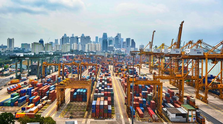 Port of Singapore 1000 ideas about Port Of Singapore on Pinterest Aerial view