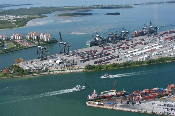 Port operations simulator