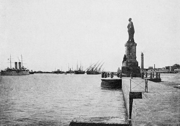 Port Said in the past, History of Port Said