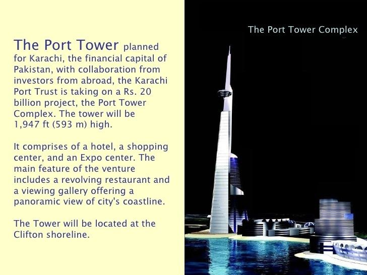 Port Tower Complex Karachi Future