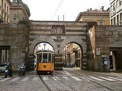 Porta Nuova, Gate of Milan httpsuploadwikimediaorgwikipediacommonsthu