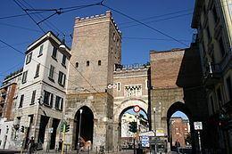 Porta Ticinese (Medieval Gate of Milan) httpsuploadwikimediaorgwikipediacommonsthu