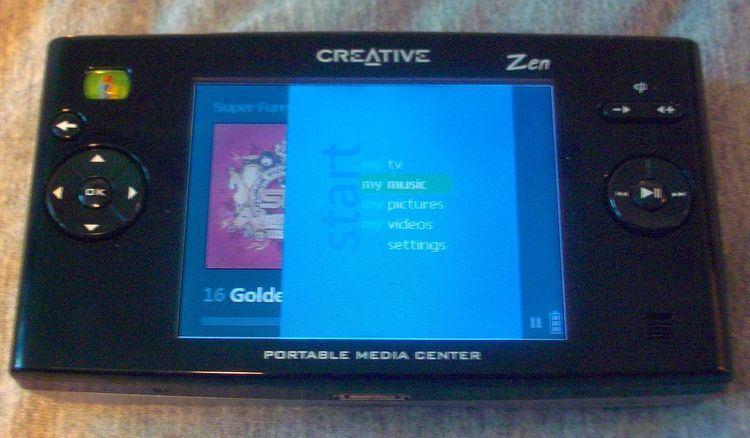 Portable Media Center