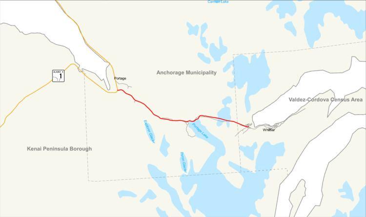 Portage Glacier Highway