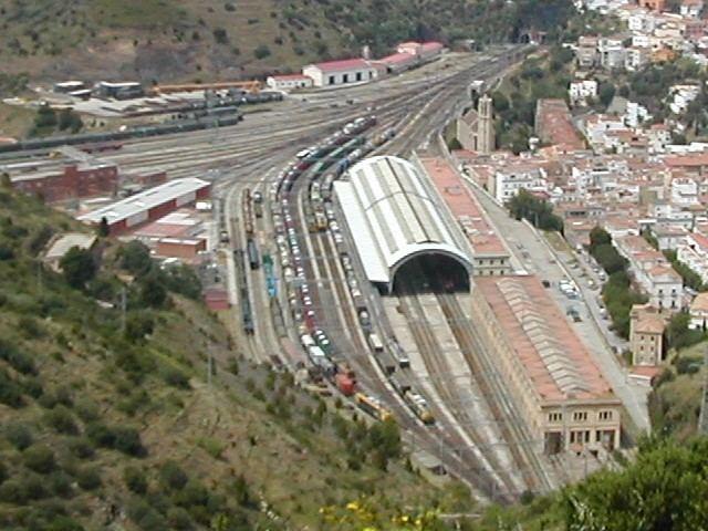 Portbou railway station