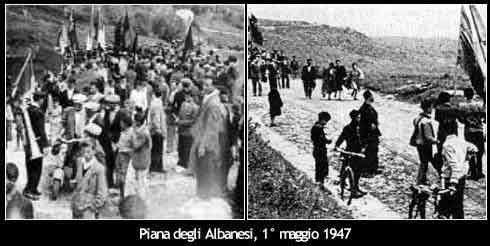 Portella della Ginestra massacre La strage di Portella delle Ginestre