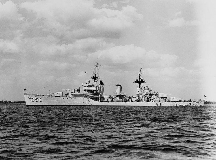 Porter-class destroyer