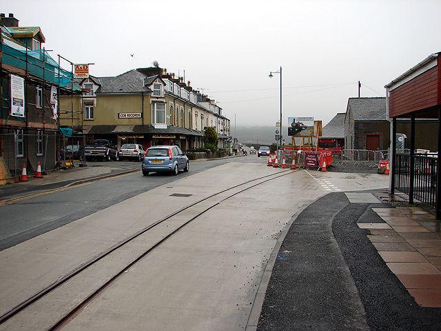 Porthmadog cross town link