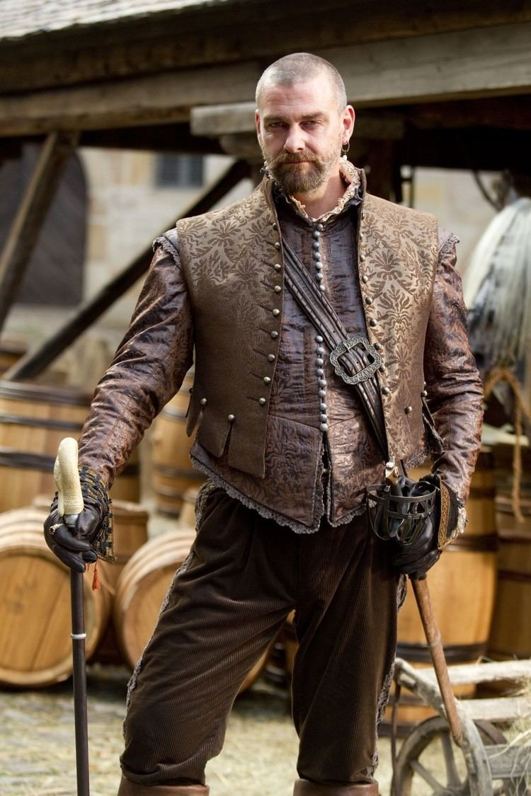 Porthos Ray Stevenson as Porthos in THE THREE MUSKETEERS 2011 History on