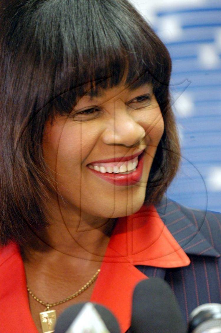 Portia Simpson-Miller diGJamaica Prime Ministers of Jamaica Portia SimpsonMiller