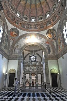 Portinari Chapel Horned Madonna of Portinari Chapel Milan Italy Atlas Obscura