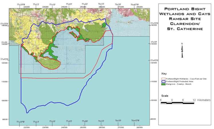 Portland Bight Protected Area Information Save Goat Islands