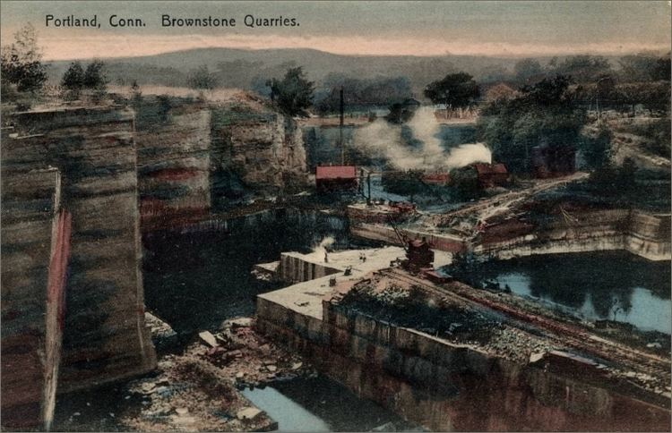 Portland Brownstone Quarries quarriesandbeyondorgstatescnimagesctportland