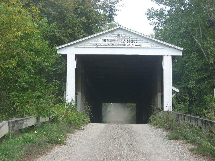 Portland Mills Covered Bridge