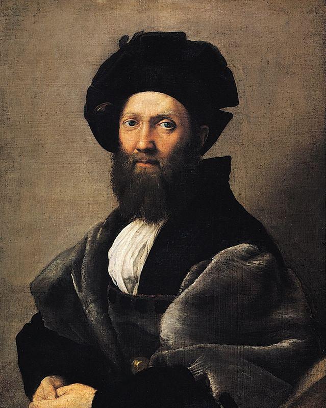 Portrait of Baldassare Castiglione wwwartblecomimgsb3e511334portraitofbalda