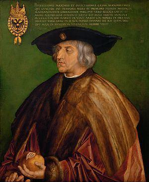 Portrait of Emperor Maximilian I httpsuploadwikimediaorgwikipediacommonsthu