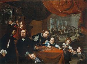 Portrait of the gem-cutter Dionysio Miseroni and his family httpsuploadwikimediaorgwikipediacommonsthu