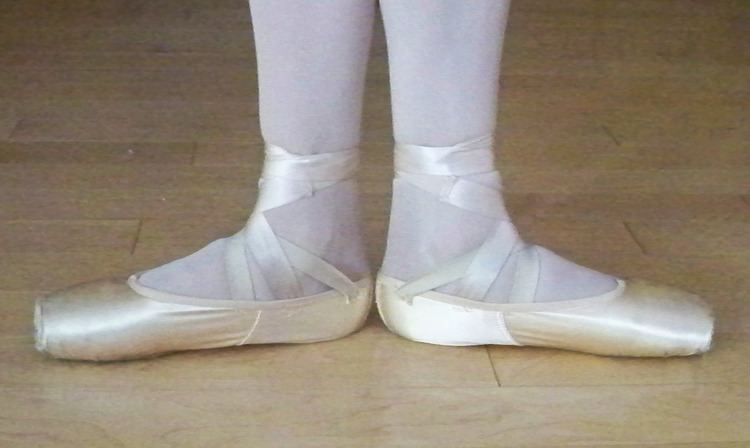 Positions of the feet in ballet