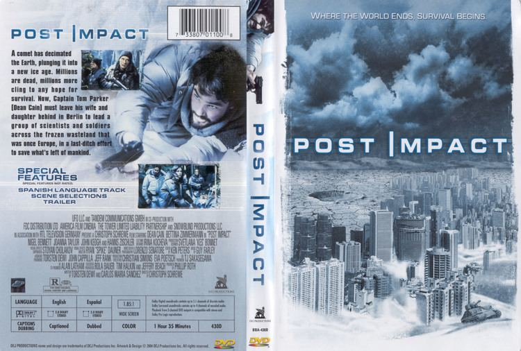 Post Impact COVERSBOXSK post impact 2004 high quality DVD Blueray