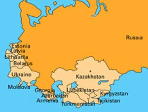 Post-Soviet states USRCCNE Resources Articles Russian Language in the PostSoviet Space