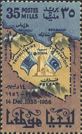 Postage stamps and postal history of Libya
