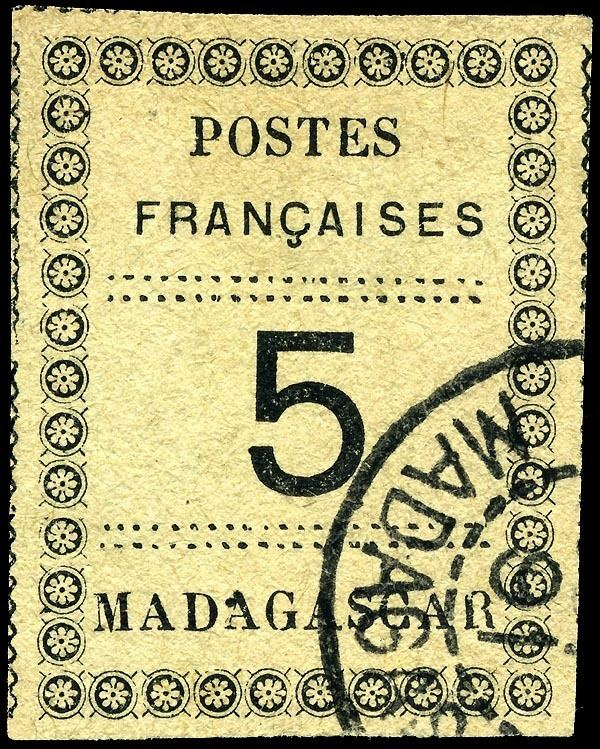 Postage stamps and postal history of Madagascar