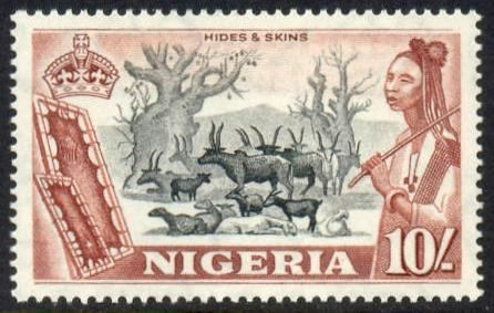 Postage stamps and postal history of Nigeria