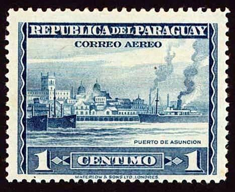 Postage stamps and postal history of Paraguay