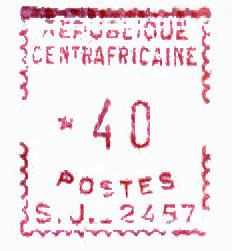 Postage stamps and postal history of the Central African Republic
