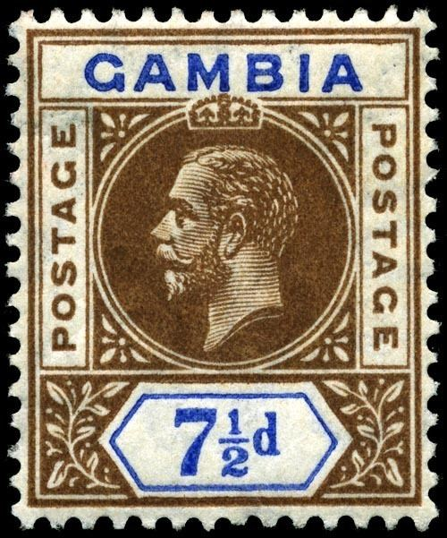 Postage stamps and postal history of the Gambia