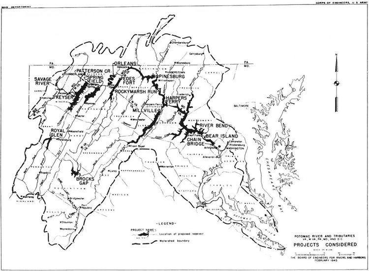 Potomac River Basin Reservoir Projects