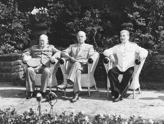 Potsdam Conference Potsdam Conference World War II Britannicacom